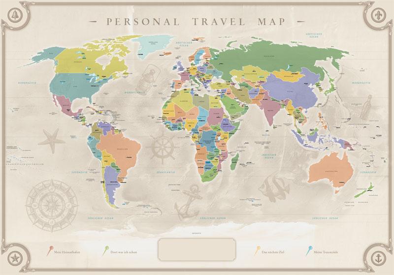 weltkarte scratch Scratch Map   Die Weltkarte zum Rubbeln für Globetrotter weltkarte scratch